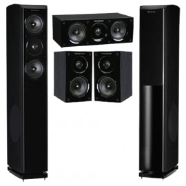 Wharfedale Obsidian 600 Cinema Pack Blackwood