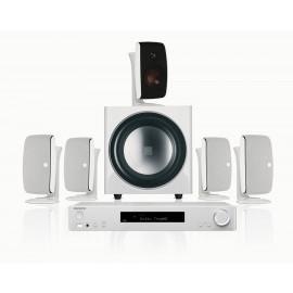 Onkyo TX-L50 White + Dali Fazon sat 5.0/Dali SUB E-9 F