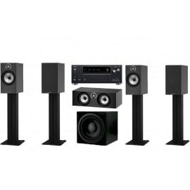 Onkyo TX-RZ730 + B&W 606 set 5.1 606/606/HTM6/ASW610
