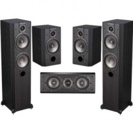 Wharfedale VARDUS 300 Home Cinema Package VINYL Blackwood