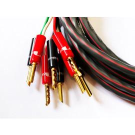 """Разделка акустического кабеля Bi-Amping (""""Z-connector"""" - 16 шт)"""