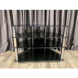 Titan - Elite TV stand 1004 (Black Glass)