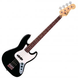 FENDER SQUIER AFFINITY JAZZ BASS RW Black