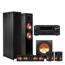 Onkyo TX-NR686 + Klipsch Reference Premier set 5.1 RP-8000F/RP-502S/RP-504C/R-115SW