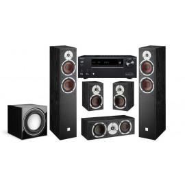 Onkyo TX-NR575E + DALI Spektor 5.1 6/1/vokal/sub E - 9F