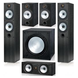 Monitor Audio MR4/MR2/MRcentre/MRW-10 set 5.1 Black