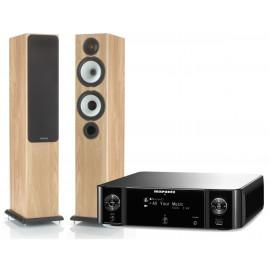 Monitor Audio BX5 + Marantz MCR510 Melody Stream