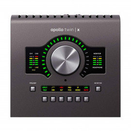 UNIVERSAL AUDIO Apollo Twin X DUO Heritage Edition (Desktop/Mac/Win/TB3)