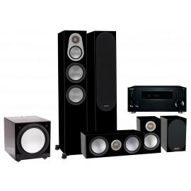 Monitor Audio Silver 500/AV ресивер Onkyo TX-RZ1100