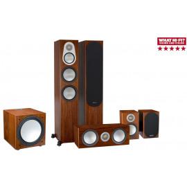 Monitor Audio Silver 300/100/centre 150/W12 walnut