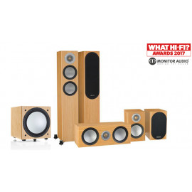 Monitor Audio Silver 200/50/centre150/W12 set 5.1 Natural oak