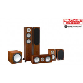 Monitor Audio Silver 200/100/centre150/W12 Walnut