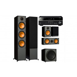 Yamaha RX-V485 + set 5.1 Monitor Audio Monitor 300
