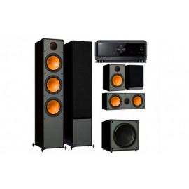 Yamaha RX-V4A + set 5.1 Monitor Audio Monitor 300