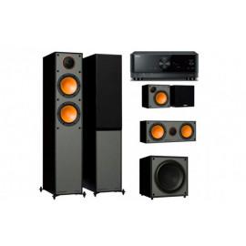 Yamaha RX-V4A + Monitor Audio Monitor 200
