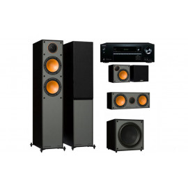 Onkyo TX-NR474 + set 5.1 Monitor Audio Monitor 200