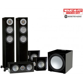 Monitor Audio Silver 200/FX/centre150/W12 set 5.1 Black High Gloss