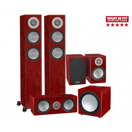 Monitor Audio Silver 200/50/centre150/W12 set 5.1 Rosenut