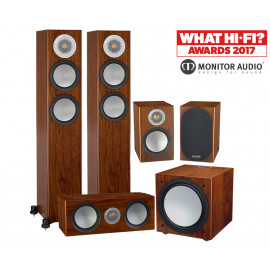 Monitor Audio Silver 200/50/centre150/W12 set 5.1 Walnut