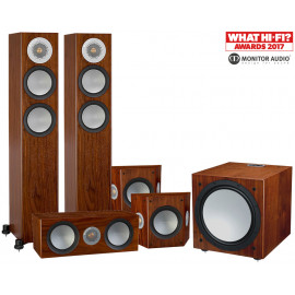 Monitor Audio Silver 200/FX/centre150/W12 set 5.1 Walnut