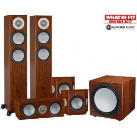 Monitor Audio Silver 200/FX/centre150/W12 set 5.1 Walnut