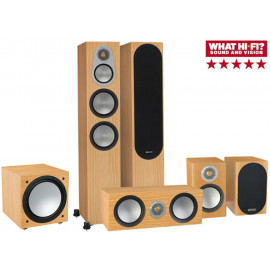 Monitor Audio Silver 300/50/centre 150/W12 natural oak