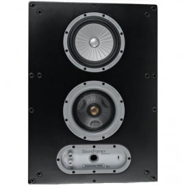 MONITOR AUDIO Soundframe 1 On Wall Black