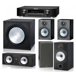 Monitor Audio MR2 и ресивер Marantz NR1508