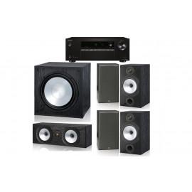 Monitor Audio MR2 и ресивер Onkyo TX-SR252 Black