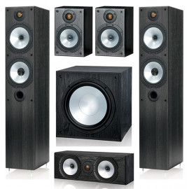 Monitor Audio MR4/MR1/MRcentre/MRW-10 set 5.1 Black