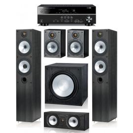 Monitor Audio MR4 и ресивер Yamaha RX-V481