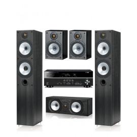 Monitor Audio MR4 и ресивер Yamaha RX-V383