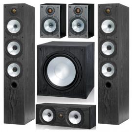 Monitor Audio MR6/MR1/MRcentre/MRW-10 set 5.1 Black