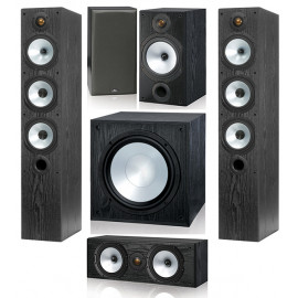 Monitor Audio MR6/MR2/MRcentre/MRW-10 set 5.1 Black