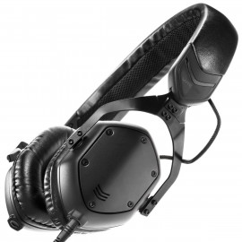V-MODA XS Collapsible Matte Black Metal