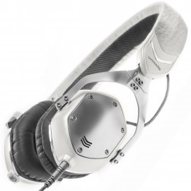 V-MODA XS Collapsible White Silver