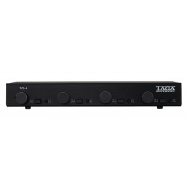 Taga Harmony TVS-4 Speaker Selector with Volume Control BLACK