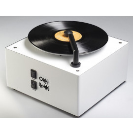 Okki Nokki RCM Record Cleaning Machine White