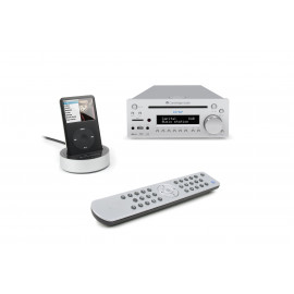 Cambridge Audio One + integrated CD player & DAB+/FM 2.1 Silver