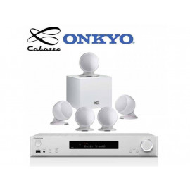 Onkyo TX-L50 + set 5.1 Cabasse Alcyone 2