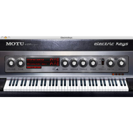 Motu Electric Keys