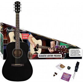 FENDER CD-60 PACK BK