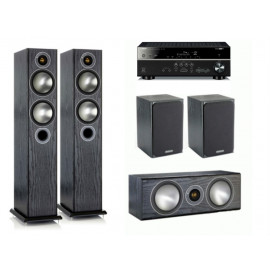Yamaha RX-V485 + set 5.0 Monitor Audio Bronze 6