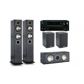 Monitor Audio Bronze 6 set 5.0 6/1/Centre и ресивер Onkyo TX-NR575E
