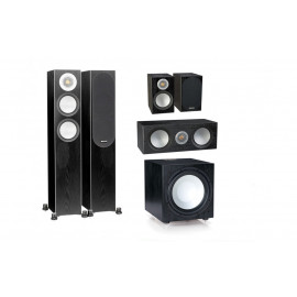 Monitor Audio Silver 200/50/centre150/W12 set 5.1 Black