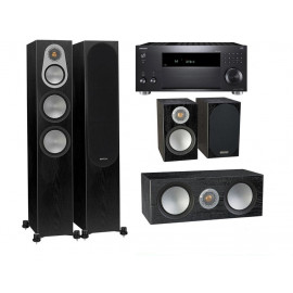 Onkyo TX-RZ820 + Monitor Audio Silver 300 set 5.0