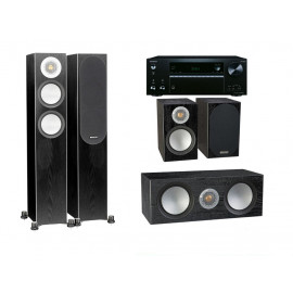 Onkyo TX-NR686E + Monitor Audio Silver 200 set 5.0