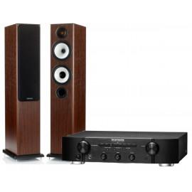 Monitor Audio BX5 + усилитель Marantz PM6005