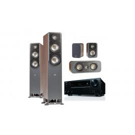 Onkyo TX-NR575E + set 5.0 Polk Audio S50