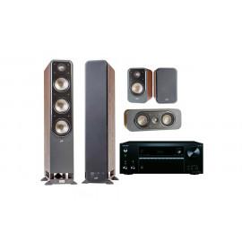 Onkyo TX-NR686 + Polk Audio S60 set 5.0